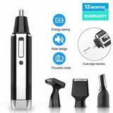 4 In 1 Electric Shaving Nose Ear Trimmer Safety Face Beard Care SP