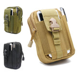 Tactical Pouch Belt Waist Pack Bag Small Pocket Military Waist Pack SP