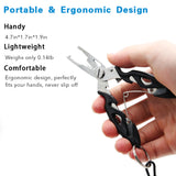 Anti-lost Fishing Pliers Stainless Steel Tools Fishing Line Pliers SP