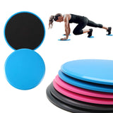 2 Pack Fitness Gliders Workout Bums Leg Slide Discs Core Exercise SP