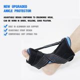 Adjustable Plantar Fasciitis Night Foot Splint Drop Orthotic Brace SP