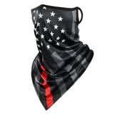 American Flag Riding Mask UV Protection Thin and light Cycling Hiking SP