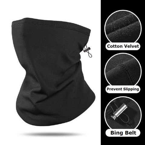 Winter Neoprene Neck Warming Mask Windproof  Dust Bicycle Snowboard SP