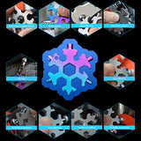 18 In 1 Snowflake Multitool Stainless Steel Tools Wine Bottle Opener