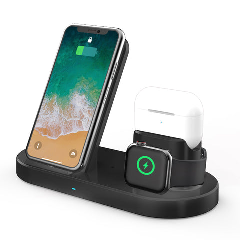 15W 3 In 1 Wireless Charger Stand for iPhone AirPods Pro Apple Watch