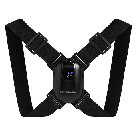 LED Display Posture Corrector Intelligent Brace Support Belt Shoulder