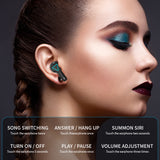 LED Display Bluetooth Earphone Wireless Earbuds V5.1 With Microphone SP