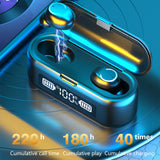 Bluetooth 5.1 Earphones 1200mAh Charging Box Wireless Headphone SP