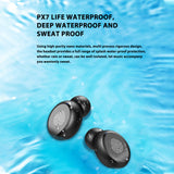 Wireless Bluetooth 5.0 Earphone HIFI Mini In-ear Sports Headset SP