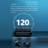 Bluetooth Headset 1200mAh Charging Case LED Power Display Wireless SP