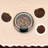 Electric Coffee Grinder Salt Pepper Beans Spices Coffee Bean Grinder SP