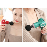 Mini Muscle Massage Gun Body Massager Pain Therapy Deep Massage SP