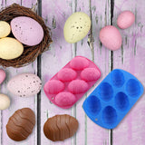 Easter Egg Silicone Chocolate Mold Cocoa Bombs Egg Chocolate Shells SP