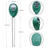 3-in-1 Soil Moisture/Light/pH Tester Gardening Tool Kits for Garden SP