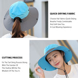 Fishing Hat for Women Outdoor UV Protection with Wide Brim SP