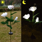Outdoor Solar Powered Rose Lights for Garden Patio Backyard SP