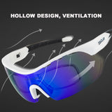 Ultraviolet Polarized Sunglasses Outdoor Dust-proof Riding Goggles SP