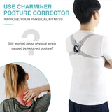 LCD Screen Smart Back Posture Corrector Improve Spine Hunchback