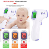 Non-Contact Infrared Forehead Thermometer LCD Digital Laser Backlight