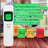 LCD Screen Digital Non-Contact Forehead Infrared Thermometer SP