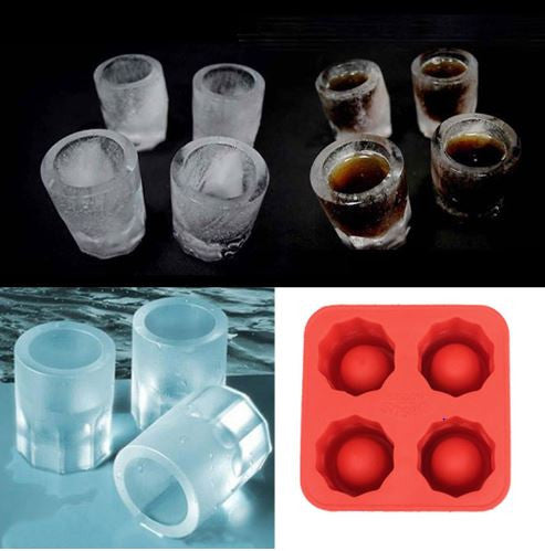 Ice Shot Glass Mould