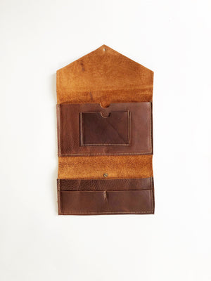 Minimalist wallet // Dark Brown
