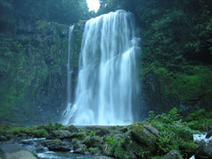 Sakuradaki Waterfall - source of negative ions