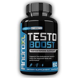 Andro XL Testo Boost - 60 Count