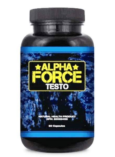 Alpha Force Testo (Men) supplement review friendo health