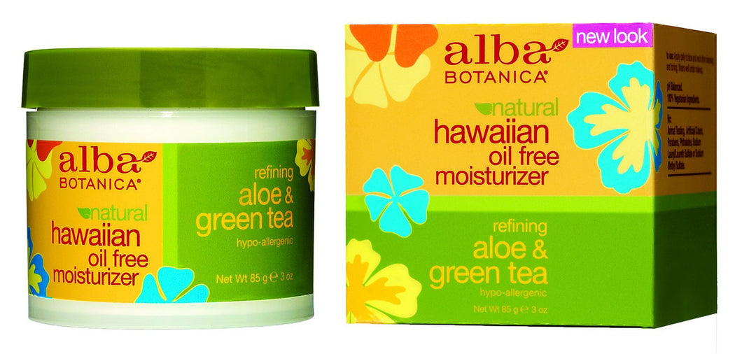 Dietary Supplement - Alba Botanica Aloe & Green Tea Moisturizer 3 OZ