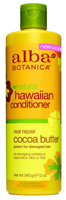 Dietary Supplement - Alba Botanica Cocoa Butter Dry Repair Conditioner 12 OZ