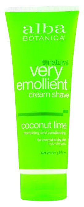 Dietary Supplement - Alba Botanica Coconut Lime Shave Cream 8 OZ