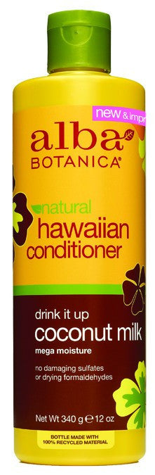 Dietary Supplement - Alba Botanica Coconut Milk Conditioner 12 OZ