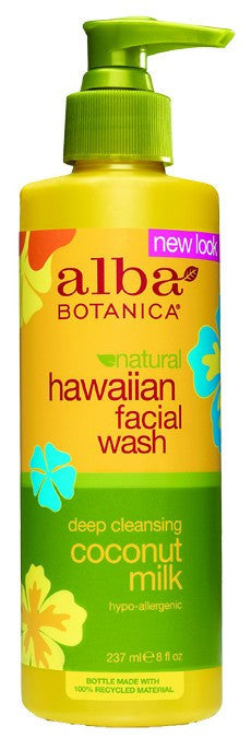 Dietary Supplement - Alba Botanica Coconut Milk Facial Wash 8 OZ