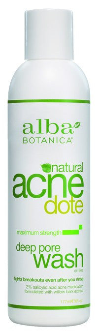 Dietary Supplement - Alba Botanica Deep Pore Wash 6 OZ