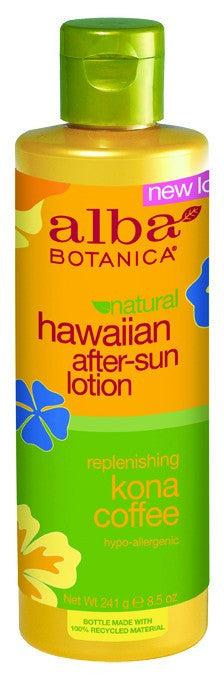 Dietary Supplement - Alba Botanica Kona Coffee After Sun Lotion 8.5 OZ