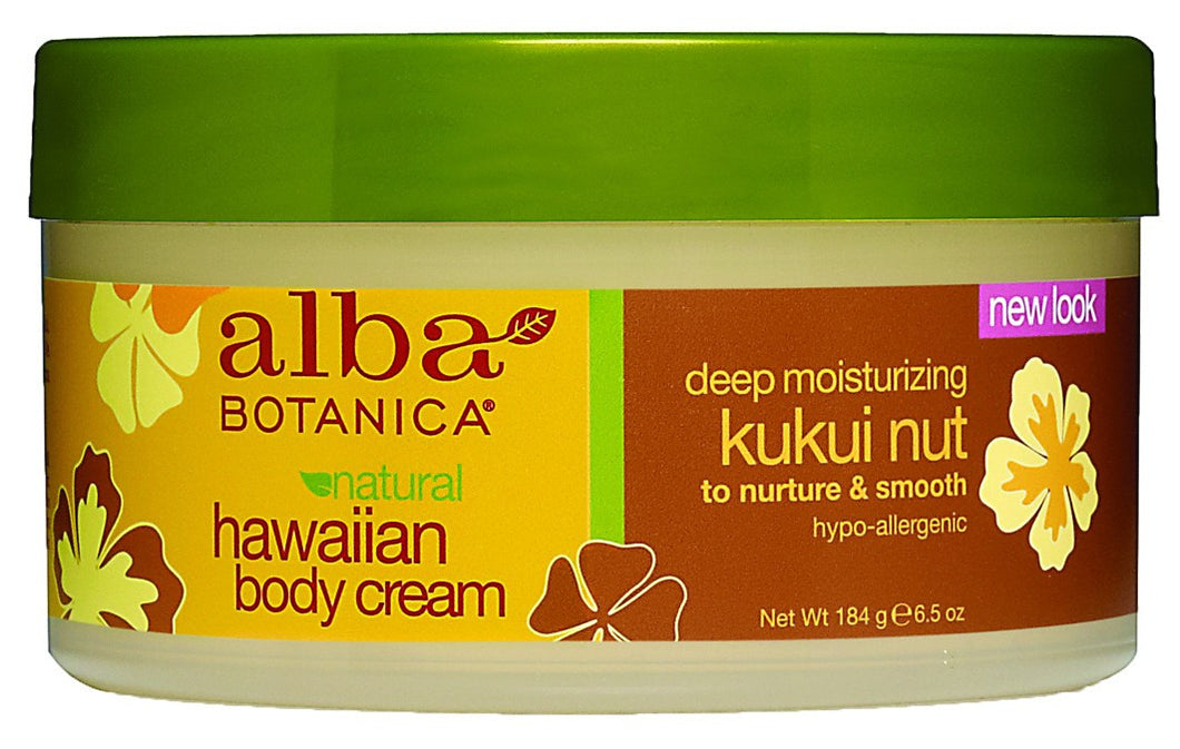 Dietary Supplement - Alba Botanica Kukui Nut Body Cream 6.5 OZ