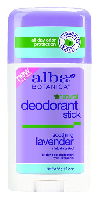 Dietary Supplement - Alba Botanica Lavender Deodorant 2 OZ