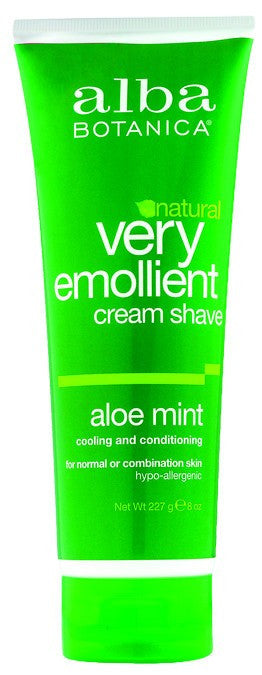 Dietary Supplement - Alba Botanica Mint Cream Shave 8 OZ