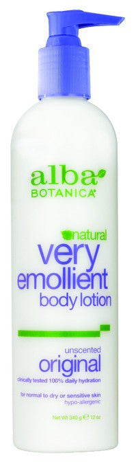 Dietary Supplement - Alba Botanica Unscented Body Lotion 12 OZ