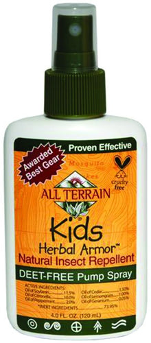 Dietary Supplement - All Terrain Kids Insect Repellent Spray 4 OZ