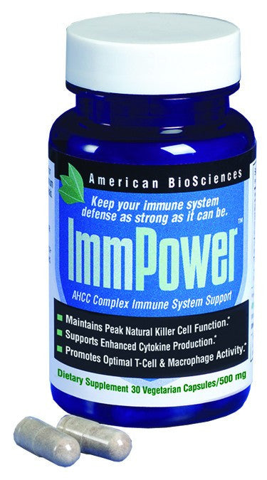 Dietary Supplement - American Biosciences ImmPower AHCC Immune System Support 30 CAP