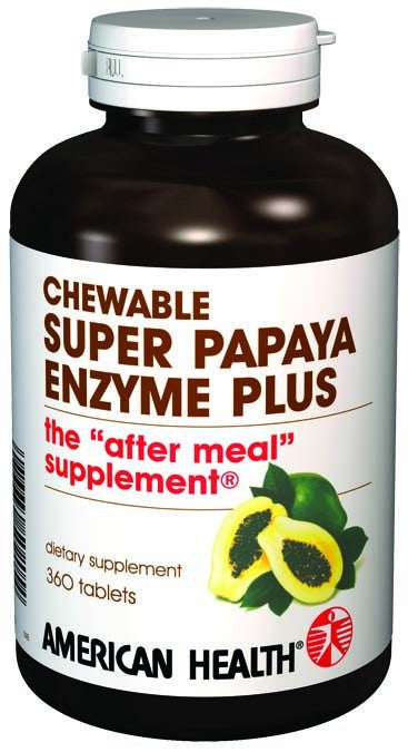 Dietary Supplement - American Health Super Papaya Enzyme Plus 360 TAB