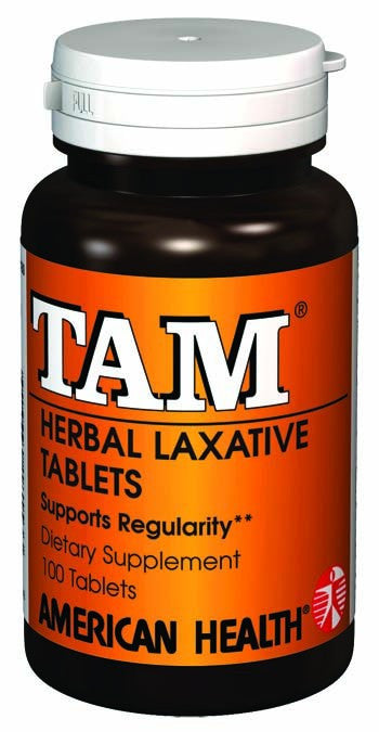Dietary Supplement - American Health Tam Herbal Laxative 100 TAB