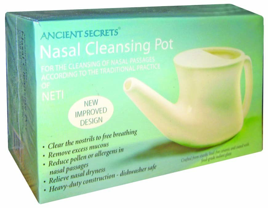 Dietary Supplement - Ancient Secrets Nasal Cleansing Pot 1 EA