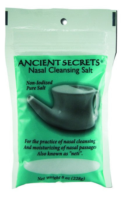 Dietary Supplement - Ancient Secrets Nasal Cleansing Salt Bag 8 OZ