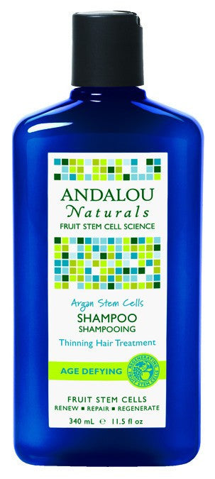 Dietary Supplement - Andalou Naturals Age Defying Argan Stem Cell Shampoo 11.5 OZ