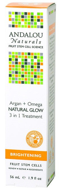 Dietary Supplement - Andalou Naturals Argan + Omega Nat Glow Treatment 1.9 OZ