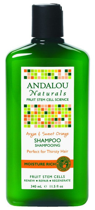 Dietary Supplement - Andalou Naturals Argan Sweet Orange Moist Shampoo 11.5 OZ