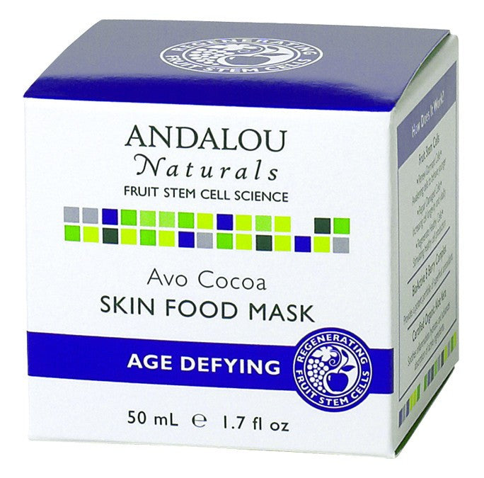 Dietary Supplement - Andalou Naturals Avo Cocoa Skin Food Mask 1.7 OZ
